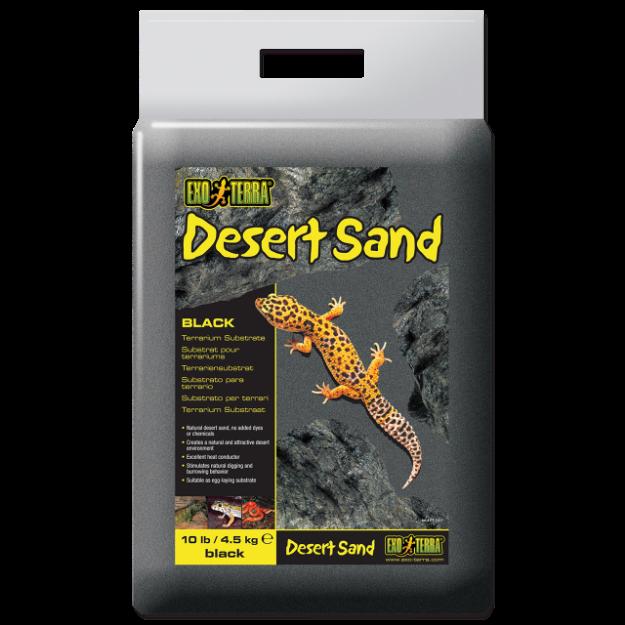 Písek EXO TERRA pouštní cerný 4,5kg