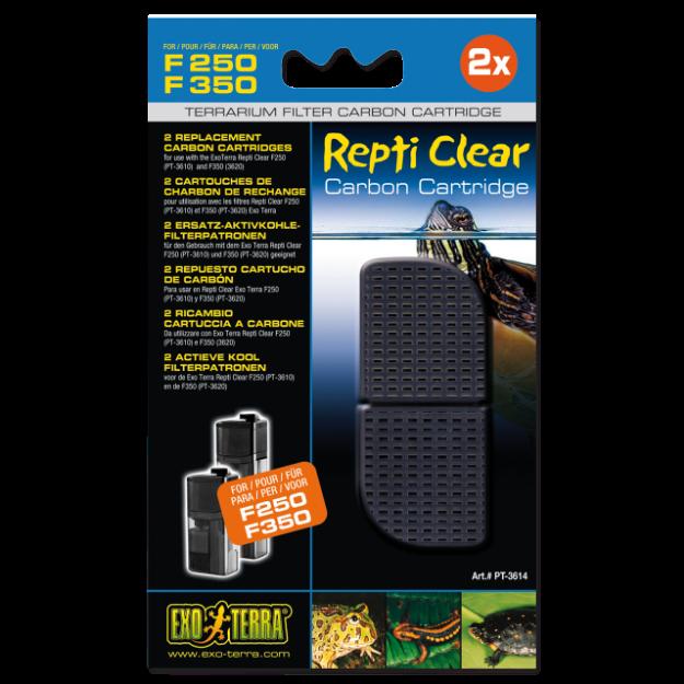 Nápln uhlí aktivní EXO TERRA Repti Clear F250 / F350