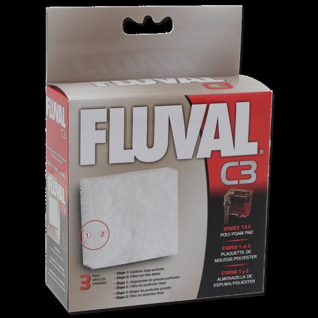 Nápln molitan polyester FLUVAL C3 3ks