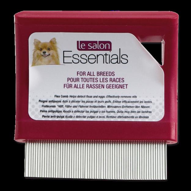 Hreben LE SALON Essentials blešák jemný
