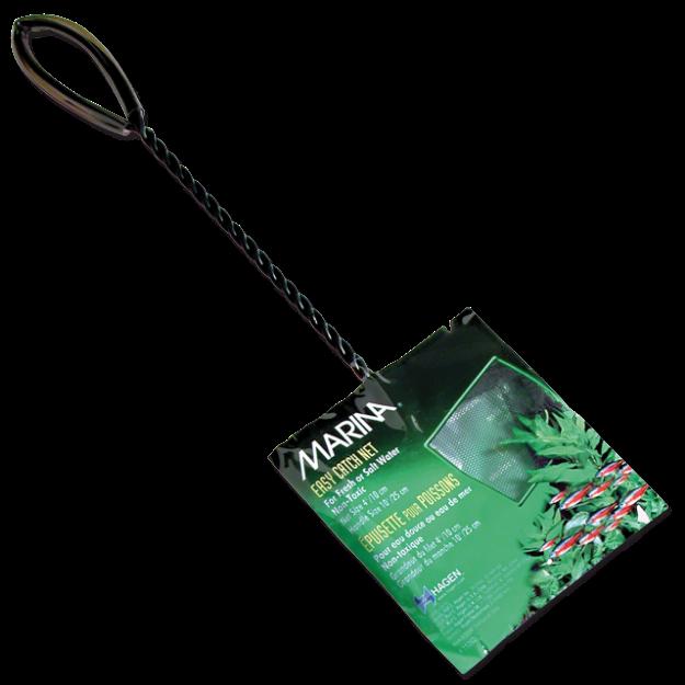 Sítka MARINA akvarijní cerná 10 x 7,5 cm