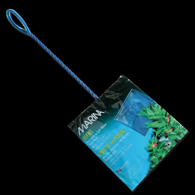 Sítka MARINA akvarijní modrá jemná 15 cm