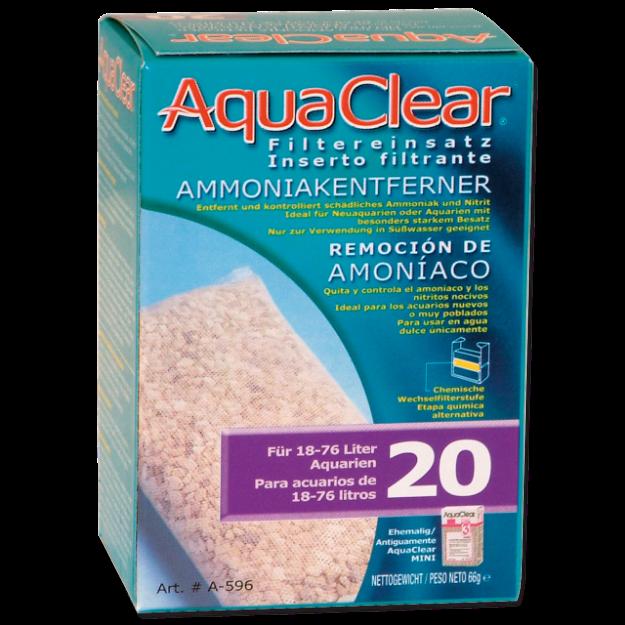 Nápln odstranovac dusíkatých látek AQUA CLEAR 20 (AC mini)