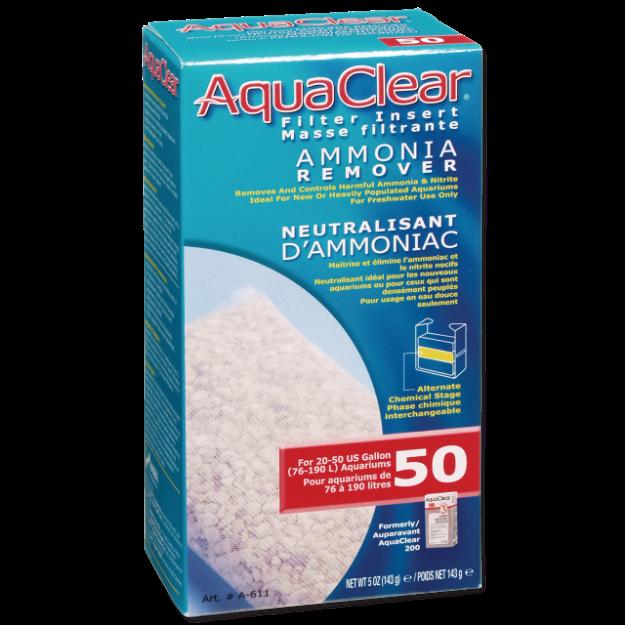 Nápln odstranovac dusíkatých látek AQUA CLEAR 50 (AC 200) 143g