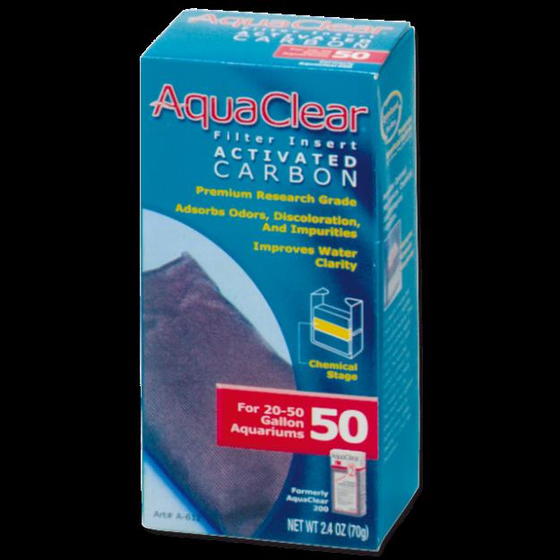 Nápln uhlí aktivní AQUA CLEAR 50 (AC 200) 70g