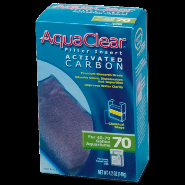 Nápln uhlí aktivní AQUA CLEAR 70 (AC 300) 140g