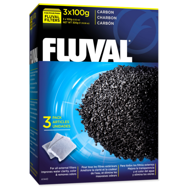 Nápln uhlí aktivní FLUVAL 300g