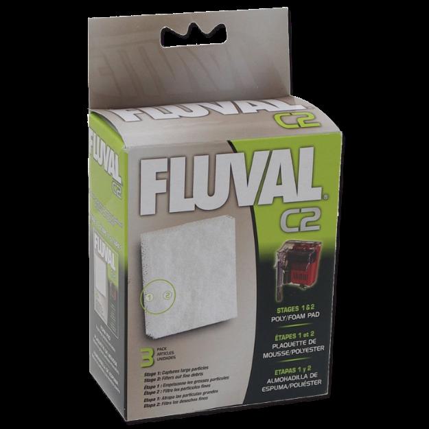 Obrázek Náplň molitan polyester FLUVAL C2 3ks