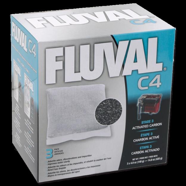 Obrázek Náplň sáčky aktivní uhlí FLUVAL C4 3ks