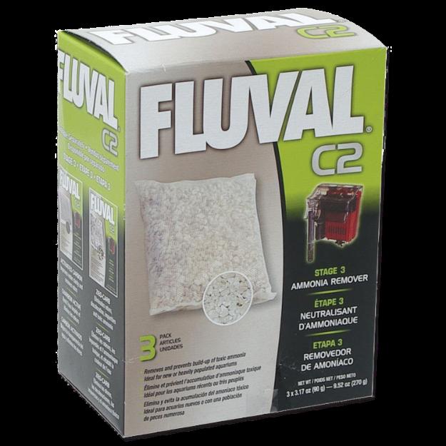 Obrázek Náplň sáčky pro odstranění amoniaku FLUVAL C2 3ks