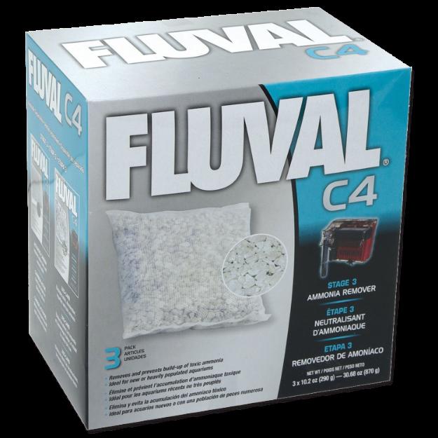 Obrázek Náplň sáčky pro odstranění amoniaku FLUVAL C4 3ks