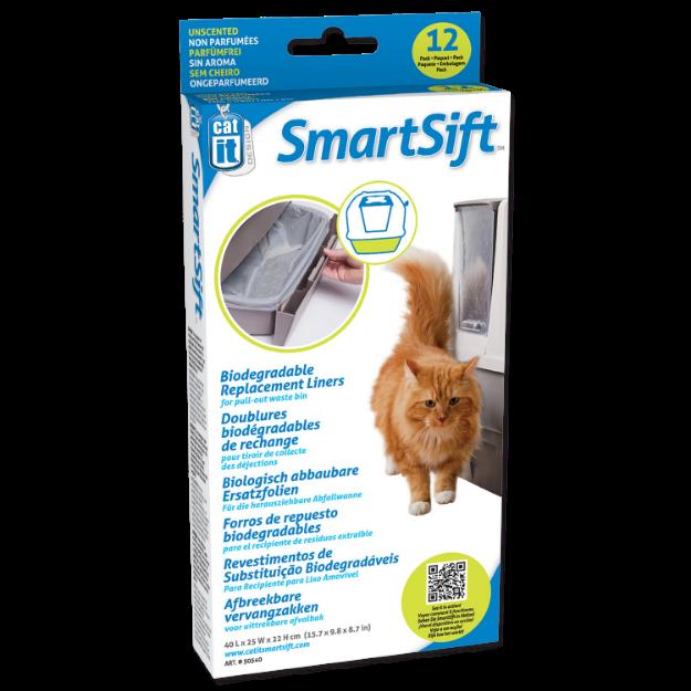 Obrázek Náhradní sáčky do toalet CATIT Design SmartSift - spodní část 12ks