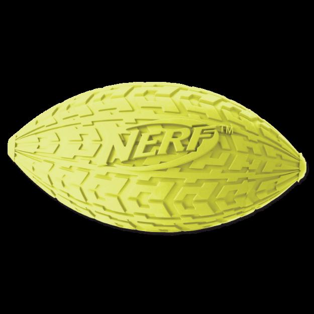 Obrázek Hračka NERF gumový rugby míč pískací 10 cm
