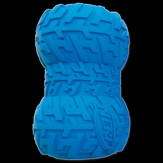 Obrázek Hračka NERF gumová kost na pamlsky 6 cm