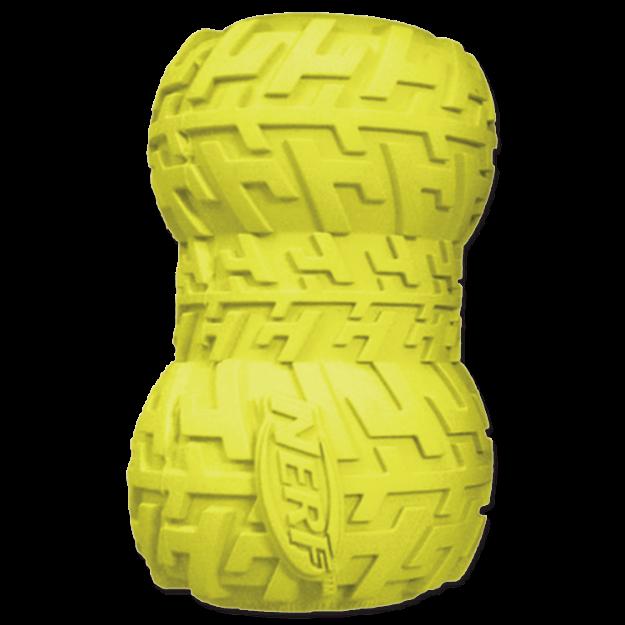 Obrázek Hračka NERF gumová kost na pamlsky 8 cm
