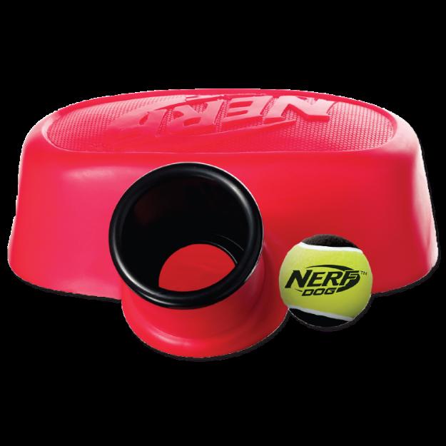 Obrázek Hračka NERF pumpa vystřelovací červená